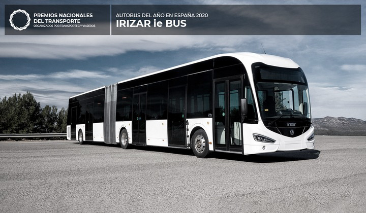 Ganador 2021 - Irizar ie Bus