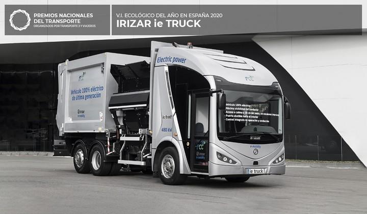Ganador 2021 - Irizar ie Truck